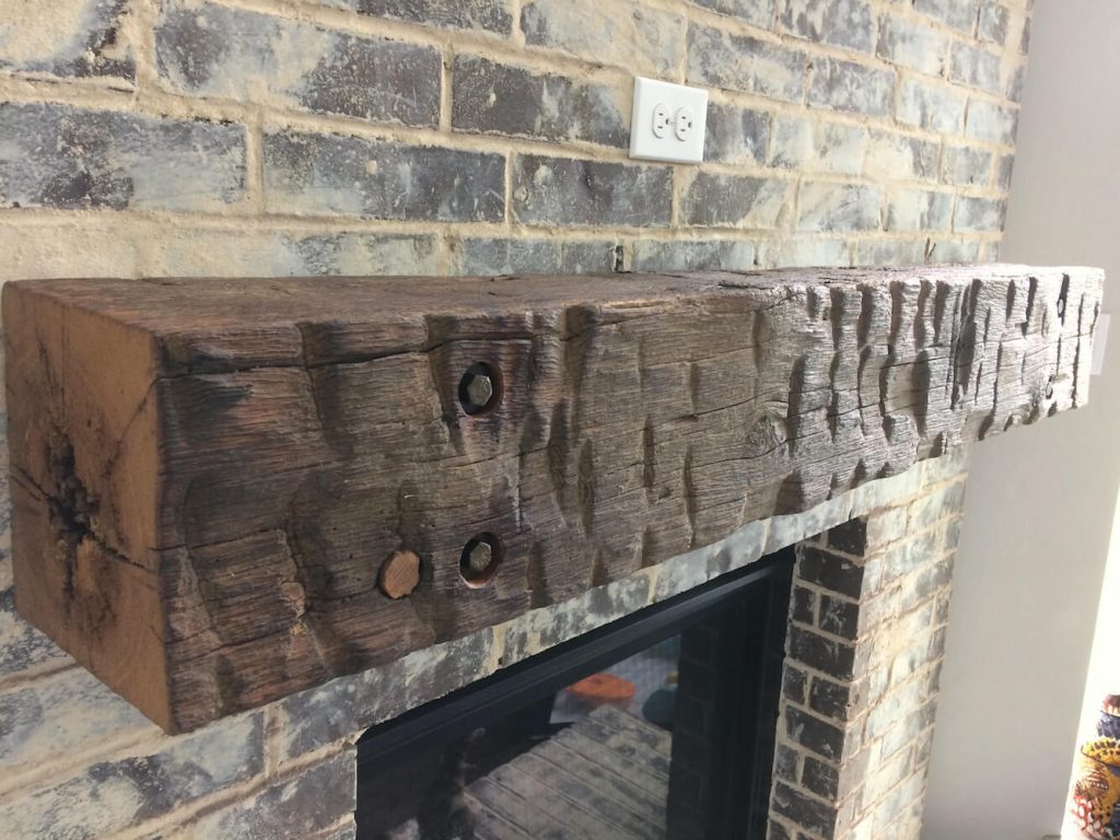 Beam Mantel Display