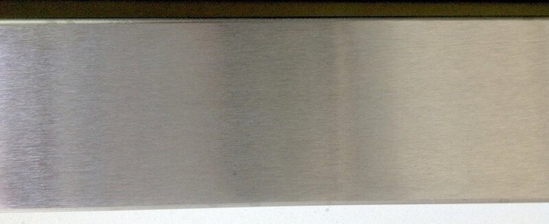 Brushed steel example