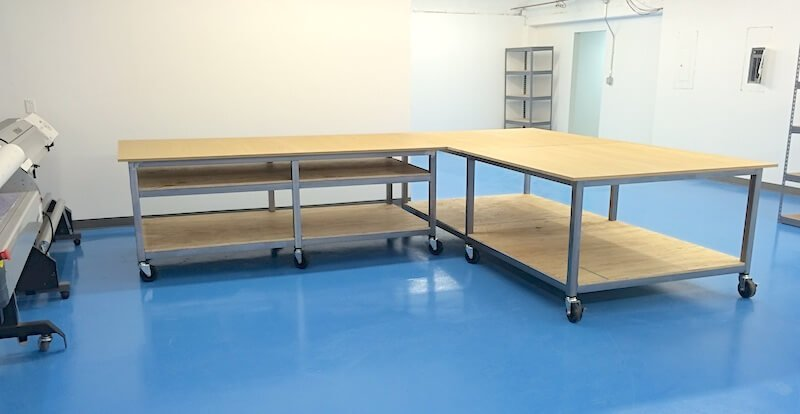 FASTSIGNS Impress Welded Tables