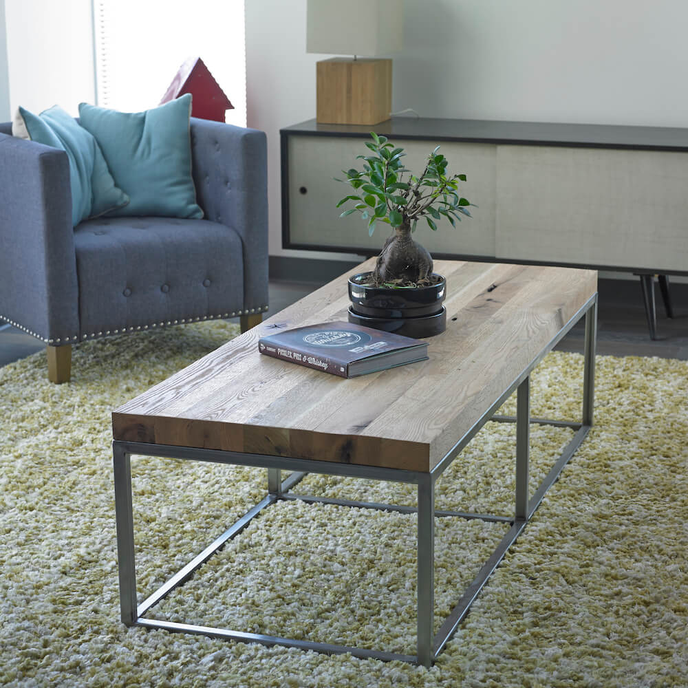 Oak Plank Coffee Table
