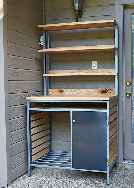 Patio Shelves
