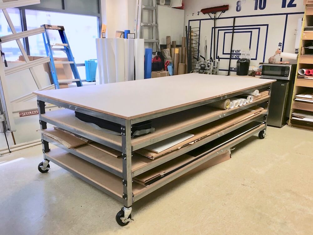Substrate Storage Table