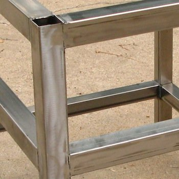 table welded together